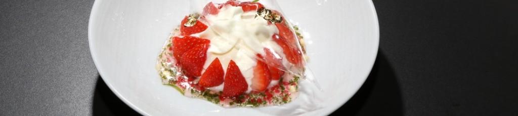 dessert aux fraises de Naoëlle d'Hainaut