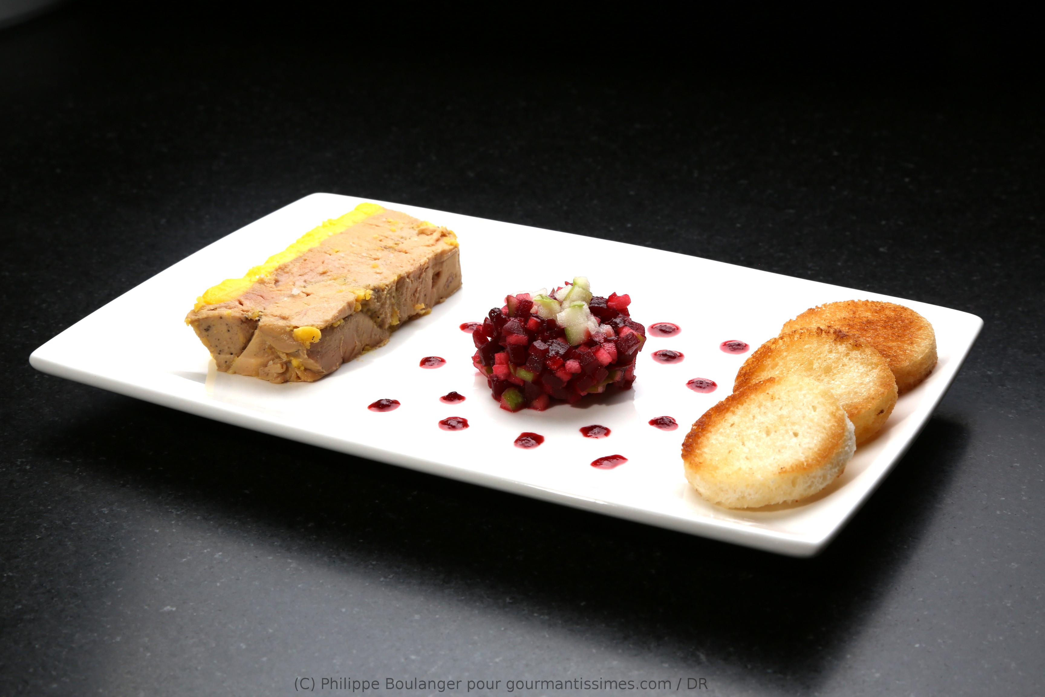 Vous cherchez des id es de recettes de foie gras - Decoration assiette de foie gras photo ...