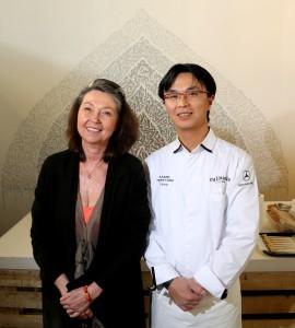 Le chef: Kamo Tomoyasu