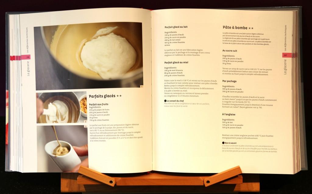 page d'exemple Larousse des desserts