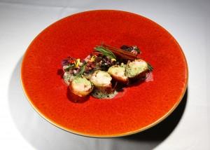 Dîner au Restaurant «Vadouxvent» une étoile, Bruxelles