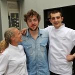 Florent et les chefs de Cuisine Attitude