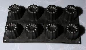 moules à canelés en silicone