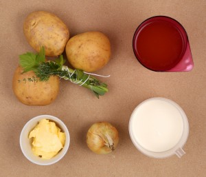 crémeux de pommes de terre