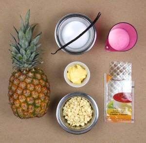 Ingrédients pour la mousse
