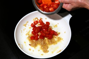 Ajoutez les tomates