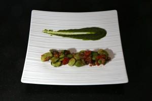 Faire en parallèle une ligne de légumes
