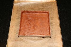 La pâte est prête à être enfournée