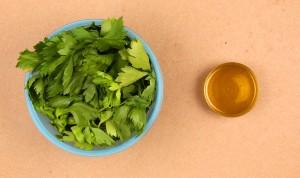 Ingrédients huile de céleri