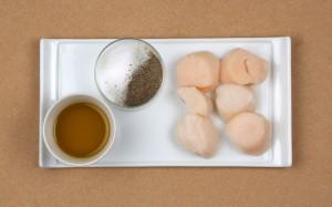 Ingrédients saint jacques