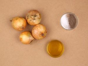 Ingrédients compotée d'oignons