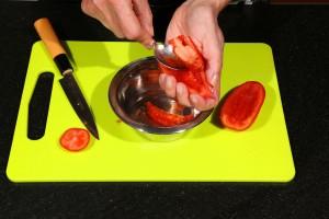 Ôtez les pépins des tomates