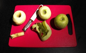 Pelez les pommes
