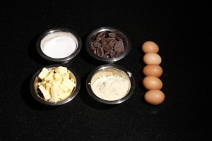 ingredients pour le gateau