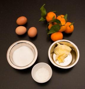 Ingrédients mousse mandarine