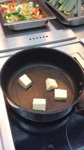 Faire fondre des noix de beurre