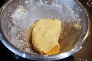 La pâte est prête