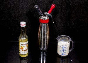 Ingrédients pour la chantilly