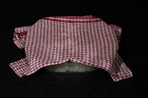 Couvrez le plat avec un tissu humide