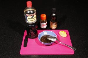 Préparez la sauce