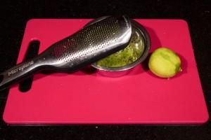 Zestez le citron vert