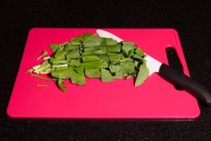Détaillez grossièrement les feuilles