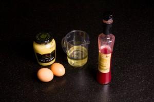 Ingrédients pour la mayonnaise