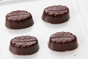 Petits chocolats bien brillants!