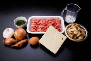 Ingrédients pain de viande