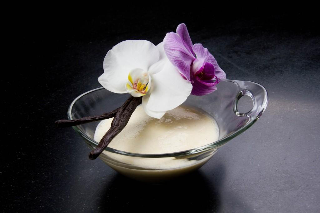 crème anglaise sous vide