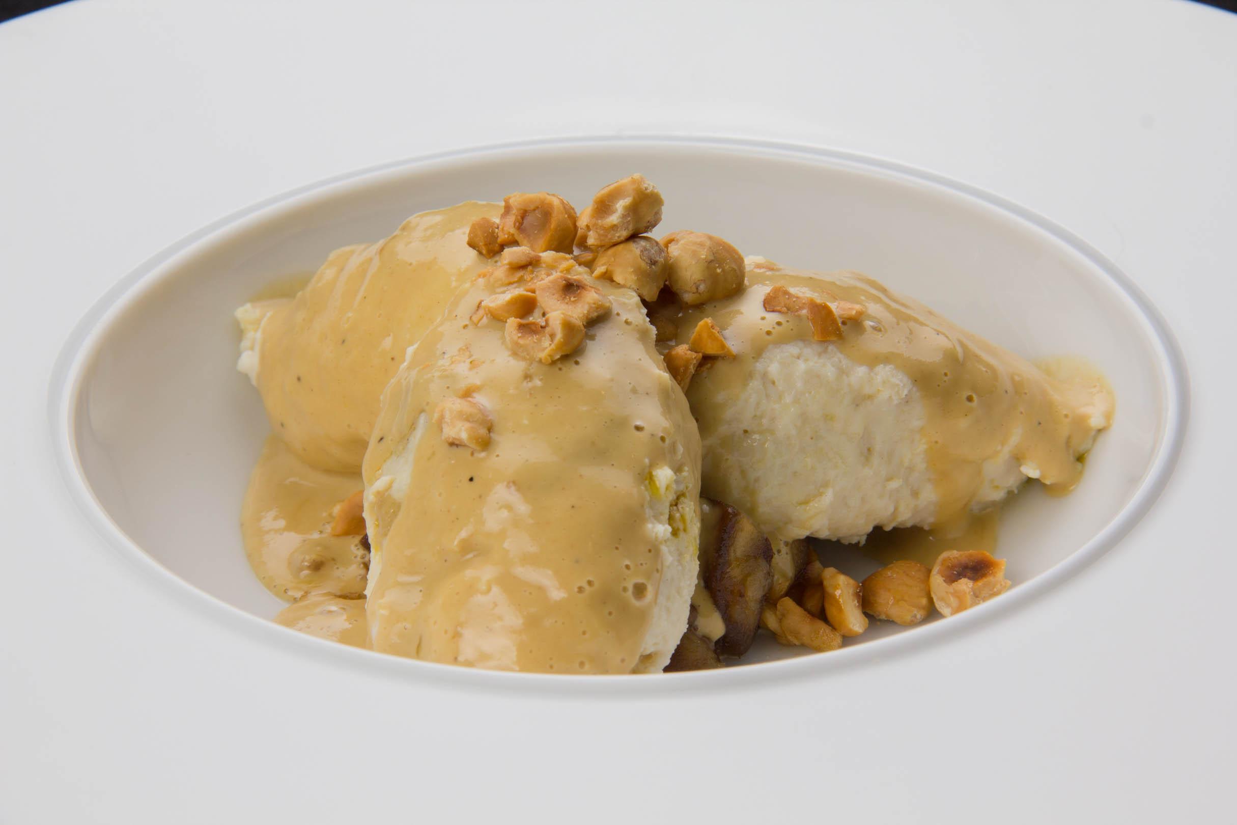 Quenelles de volaille au foie gras po l e de fruits d - Fond de volaille maison ...