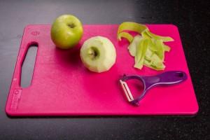 Épluchez les pommes