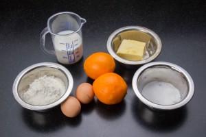 Ingrédients crêpes
