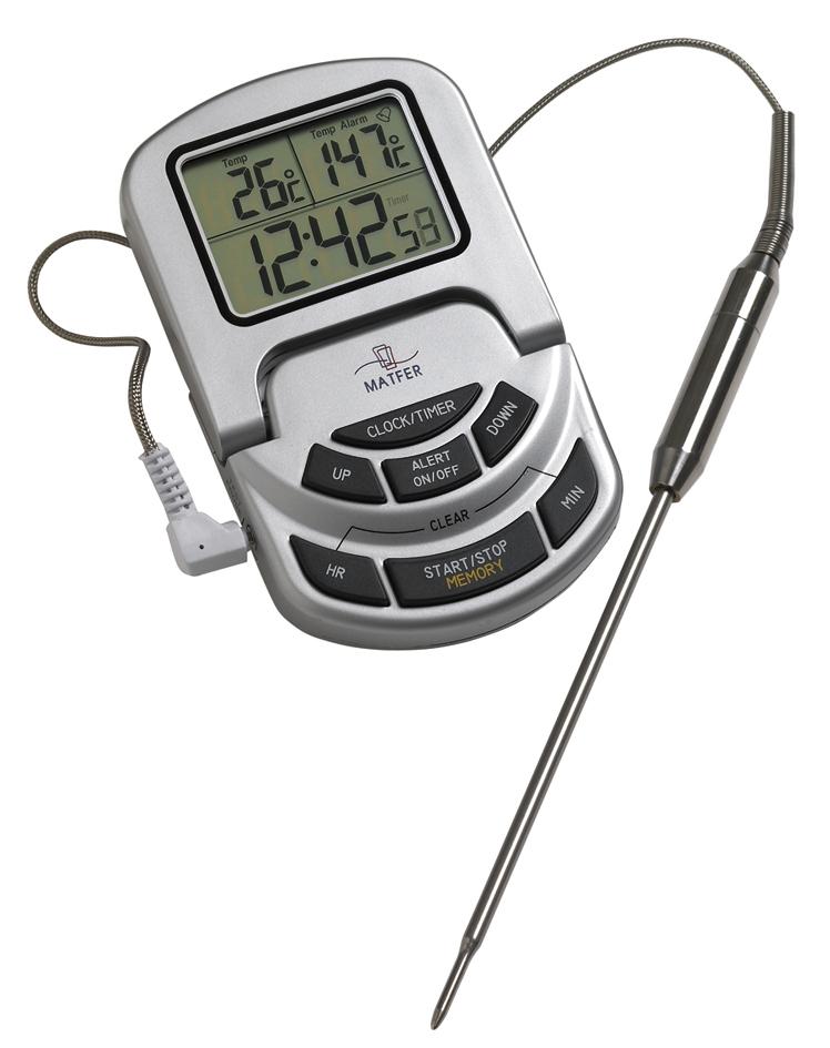 thermometre pour cuisson basse température au four