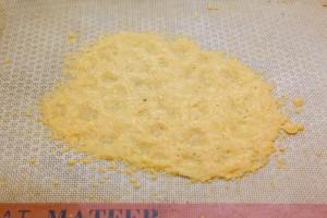 Tuile de parmesan