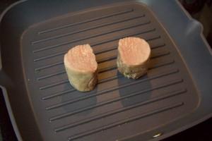 Marquez les extrémités des pièces de viande