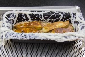 Déposez les tranches de foie gras par dessus.