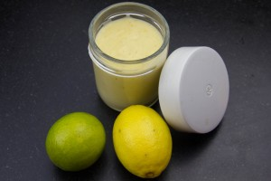 Lemon curd et orange curd