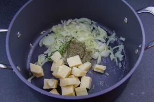 Ajoutez le parmesan