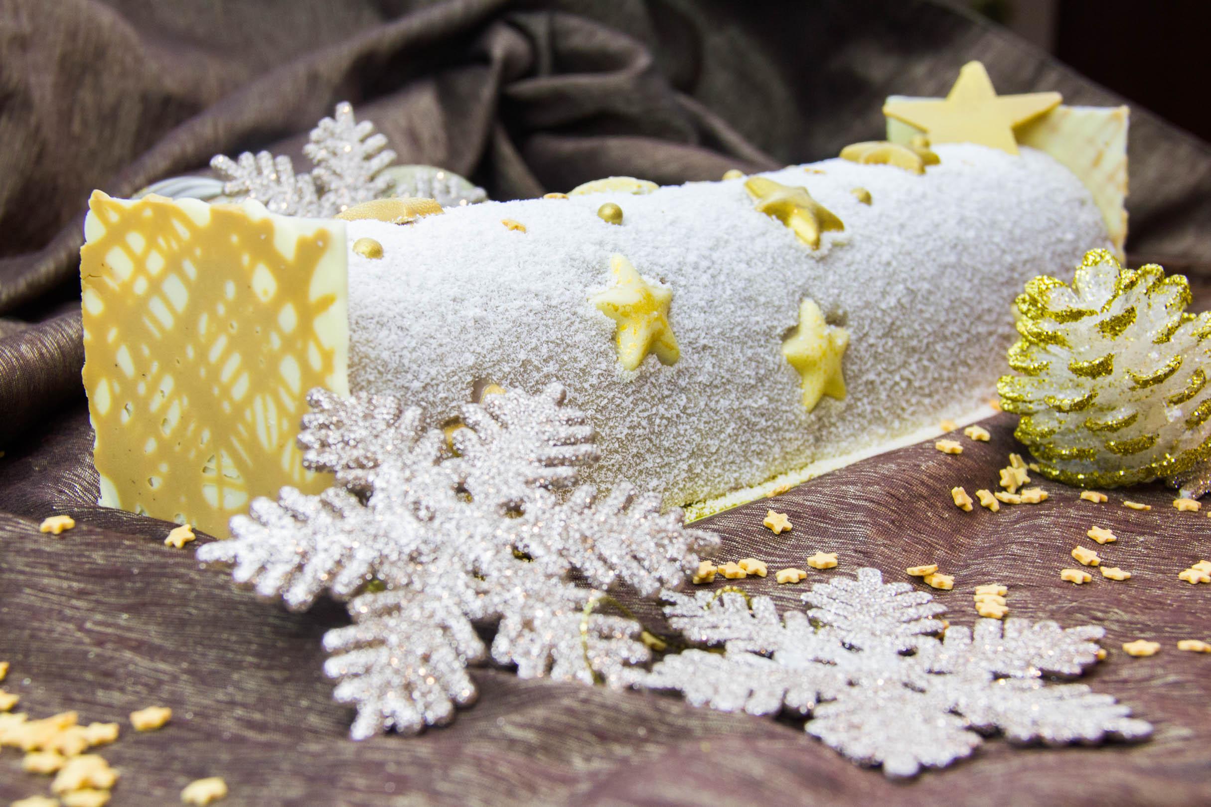 Comment faire decoration buche de noel