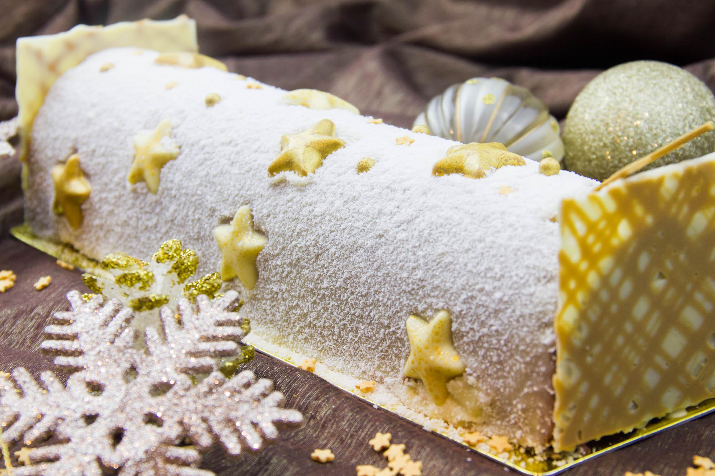 Le plus f erique des desserts glac s de no l l 39 etoile - Recette noel cyril lignac ...