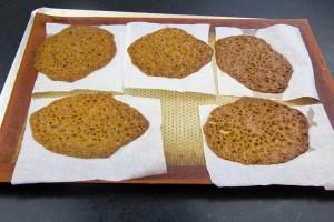 les biscuits soient bien dorés