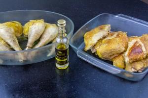 Arrosez les d'huile de truffe