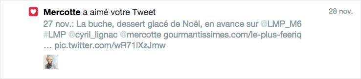 Tweet Mercotte