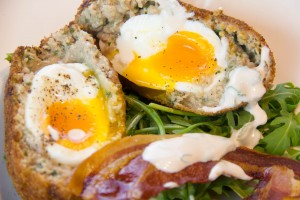 Les Scotch Eggs au coeur coulant