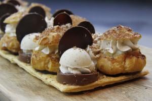 Saint Honoré au chocolat: revisite de la tradition