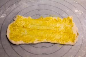badigeonnez de moutarde