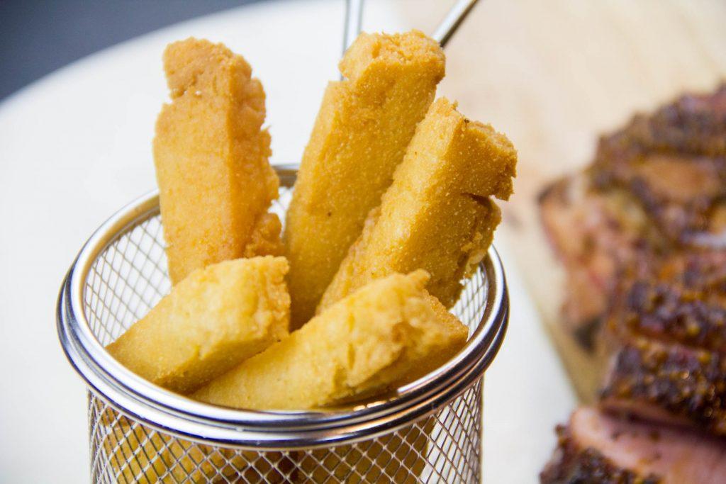 Les panisses ou frittes provencales