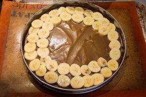 Disposez les rondelles de bananes
