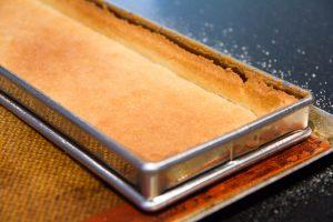 La pâte est cuite
